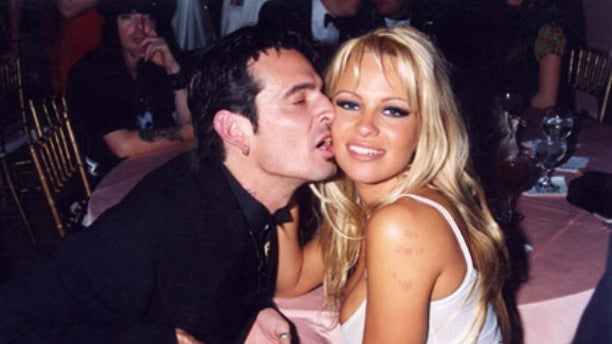 Tommy Lee and Pamela Anderson   1995 File Photos ,   Circa 1995 Photo by Jeff Kravitz/FilmMagic.com  To license this image (615887), contact FilmMagic.com