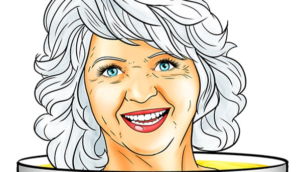 Paula Deen is being made into a comic book by Bluewater Productions.