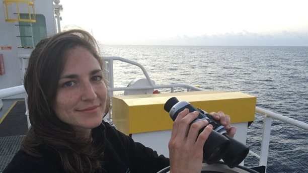 """Eli says she joined the Responder mission because, """"Watching these tragedies at sea unfold over the past few years has been nothing short of heartbreaking. I can't stop thinking about how bad things must be on land for people to risk the dangerous journey at sea."""""""