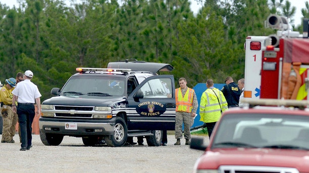 Eglin officials confirmed that multiple people died after a plane crashed Thursday.
