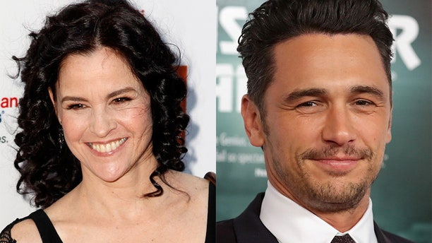 """Actress Ally Sheedy (left) of """"The Breakfast Club"""" fame slammed James Franco's 2018 Golden Globe win, hinting he led to her decision to leave the entertainment industry. The actors worked together on the play """"The Long Shrift."""""""