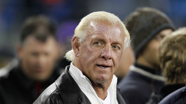 """FILE: Ric Flair says, """"Going forward, I want people to take my advice as opposed to wanting to be or act like me."""""""