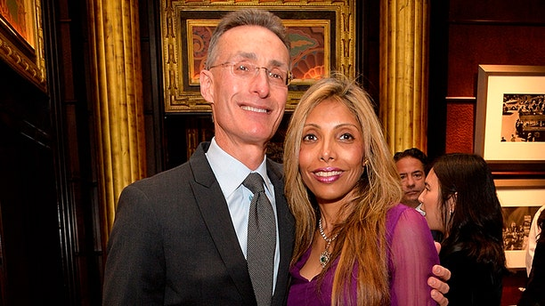 Rohina Bhandari with her fiancé, Jeffrey Rosenthal.
