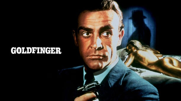 """Sean Connery stars as James Bond in the 1964 film, """"Goldfinger."""""""