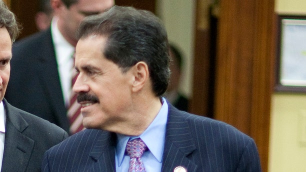 FILE: March 16, 2011: Rep. Jose E. Serrano, D-N.Y., before testifying on Capitol Hill in Washington, D.C.