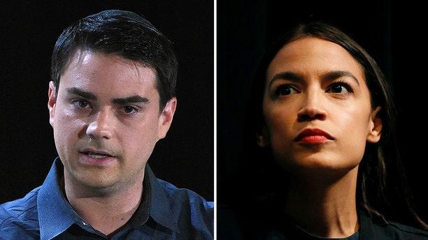 Ben Shapiro wants to have a discussion with Democratic Socialist Alexandria Ocasio-Cortez.