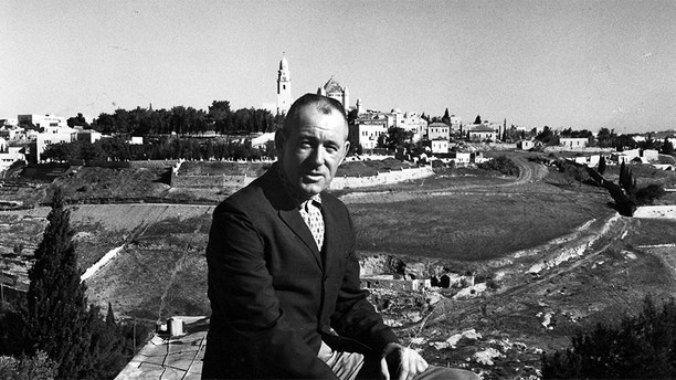 Sir John in Israel.