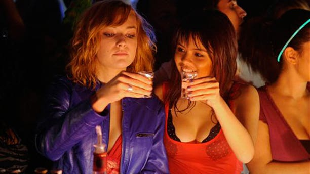 """A promotional image for MTV's new show """"Skins"""""""
