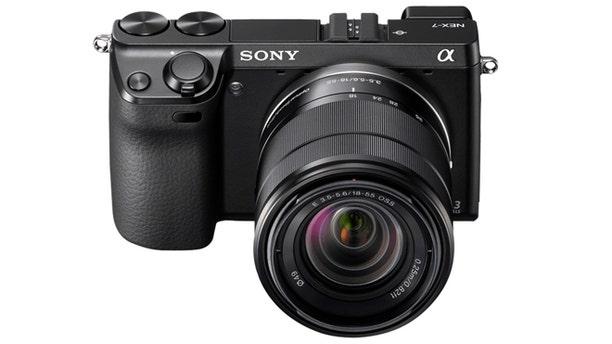 Sony's NEX 7 digital camera.