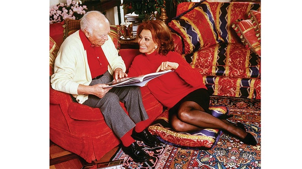 Sophia Loren and Carlo Ponti.
