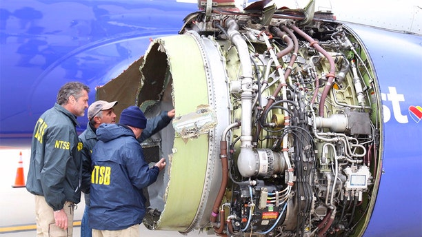 "Investigations into Flight 1380 determined that one of the engine's fan blade broke due to ""metal fatigue,"" setting off the ultimately fatal chain of events."