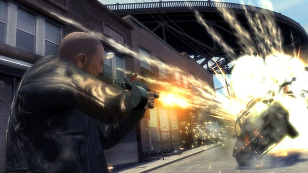 """In this image released by Rockstar Games, a scene from """"Grand Theft Auto IV: The Lost and Damned,"""" is shown."""