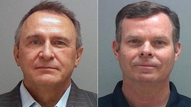 July 15, 2014: Mark Shurtleff and John Swallow, former Utah attorneys general.