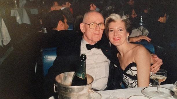 Sir John with Tina Alexis Allen.