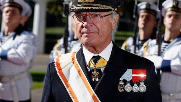 Sweden's King Carl XVI Gustaf.