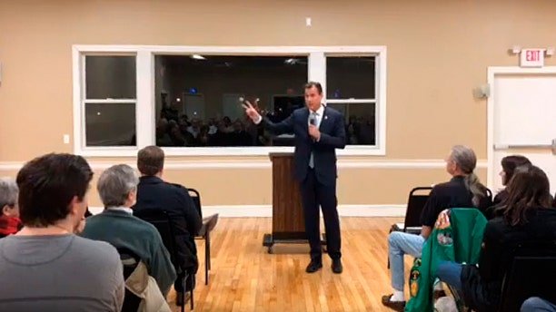 "New York Democratic Rep. Tom Suozzi made the ""Second Amendment"" comment about Trump during a March 12 town hall meeting."