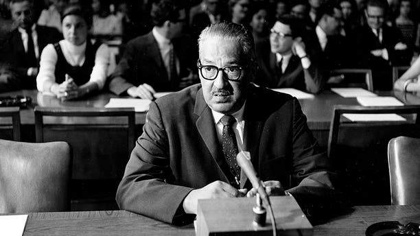 Thurgood Marshall was nominated and confirmed to the Supreme Court in 1967.