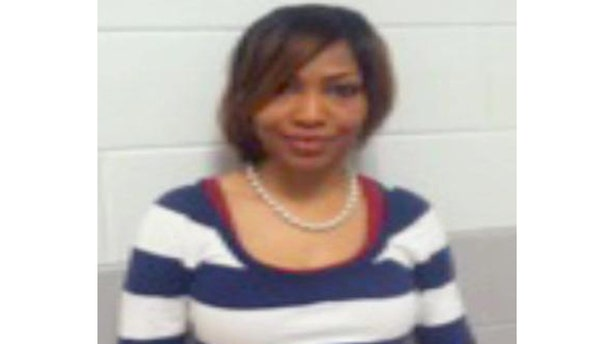 Three Memphis middle school students were disciplined for posting teacher Tiffany Jackson's mugshot, pictured above, to Instagram.
