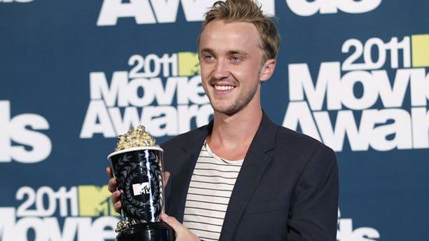 Tom Felton at the 2011 MTV Movie Awards (Reuters)