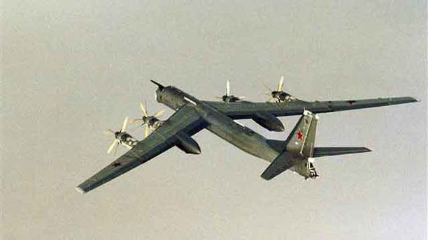 This photo shows a Russian Tu-95 Tupolev bomber (Reuters/File)