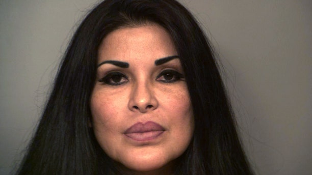 This undated  handout photo provided by the Hidalgo County Sheriff's Office shows Nohemi Gabriela Gonzalez. Authorities say a Gonzalez has been arrested for practicing medicine without a license after allegedly injecting a substance into another woman. (AP Photo/Hidalgo County Sheriff's Office)