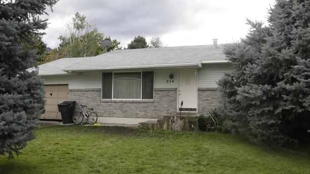 Sept. 28, 2014: The home where five Utah family members found dead in their home, in Springville, Utah