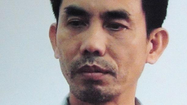 April 28, 2012: American Vietnamese activist Nguyen Quoc Quan, is seen in this picture taken in Ho Chi Minh City, Vietnam.