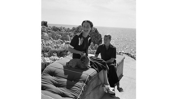 Wallis Simpson and Edward VIII.