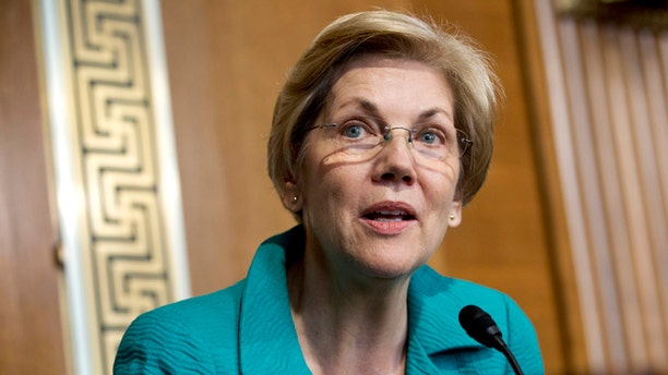 "Sen. Elizabeth Warren, D-Mass., became known to Trump as ""Pocahontas"" and ""Goofy."""