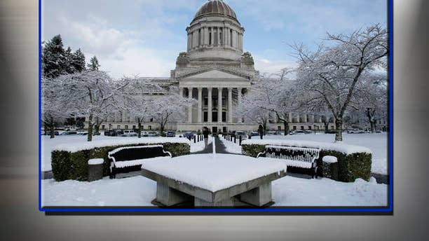 Capitol building in Olympia, Washington. AP