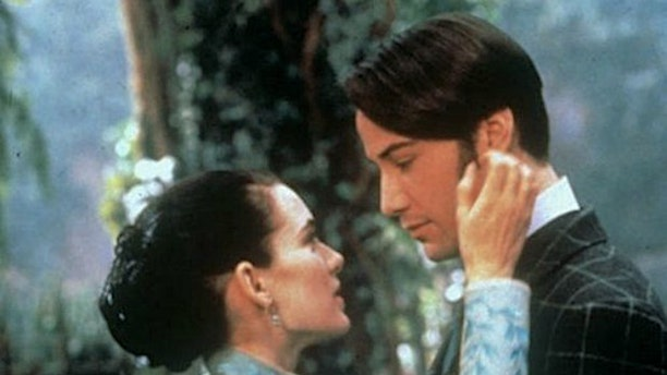 """Winona Ryder and Keanu Reeves in 1992's """"Bram Stoker's Dracula."""""""