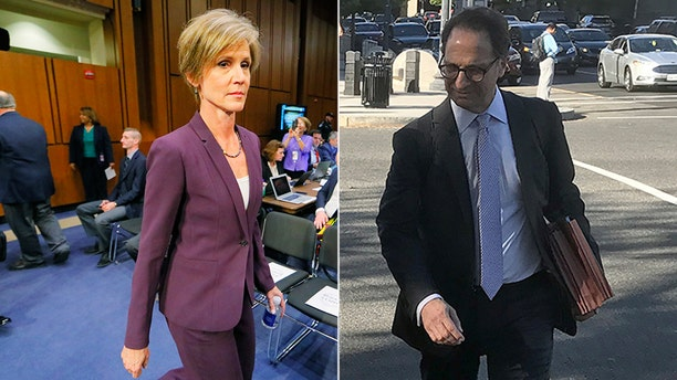 Former acting Attorney General Sally Yates, left, received praise from Andrew Weissmann, now a deputy for Special Counsel Robert Mueller.