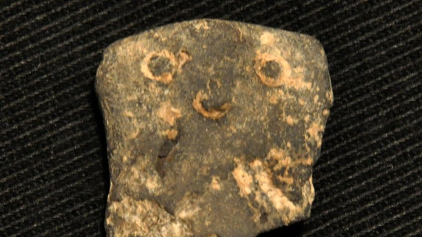A figurine from Ahihud. (Yaron Bibas, courtesy of the Israel Antiquities Authority)