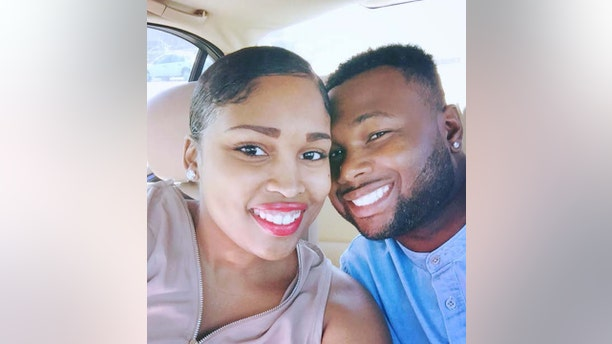 """Brittany Oswell, a nurse from the Midlands area, was flying home from Hawaii with her husband Cory on American Airlines flight A102 on April 16, 2016, when she began to feel """"dizzy and disoriented"""" and ultimately fainted."""
