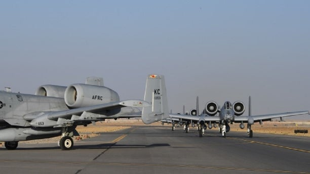 A-10s arriving at Kandahar Airfield in Afghanistan Jan 19.