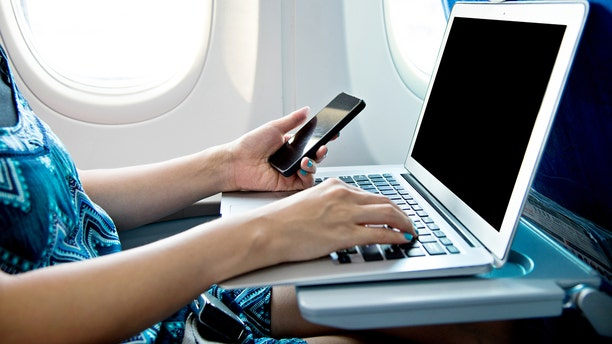 Be smart about using public Wi-Fi while traveling.