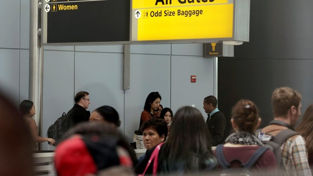 A man escaped custody from federal immigration officials Tuesday night at at John F. Kennedy Airport in New York City.