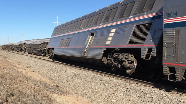 March 14, 2016: An Amtrak train derailed in southwest Kansas, injuring multiple people who were transferred to hospitals in Garden City and Dodge City, according to a release from Amtrak.