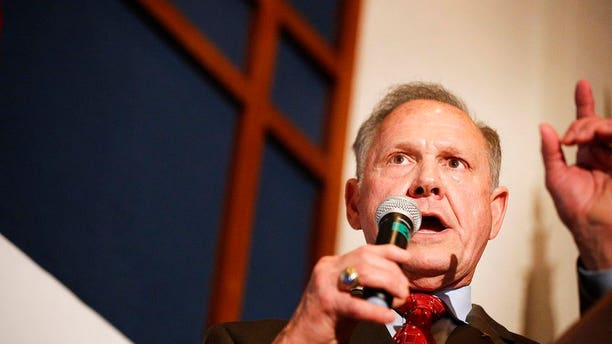 """Roy Moore has refused to concede, telling supporters Tuesday that when the """"vote is this close…it's not over"""" and said they were exploring recount options."""
