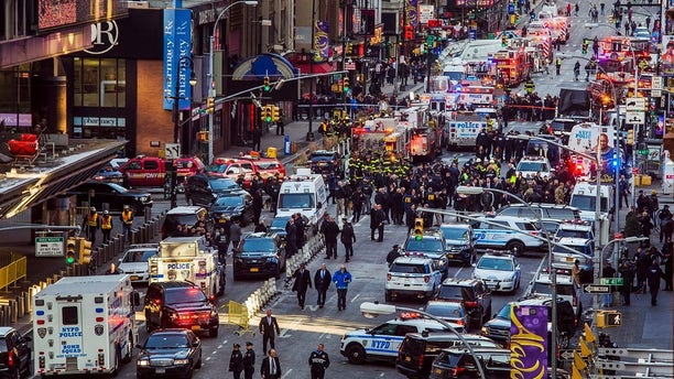 Police are responding to reports of an explosion near Port Authority.