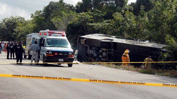 Multiple U.S. citizens were killed in Mexico on Tuesday when a bus overturned on the road, along the eastern coast of Mexico.