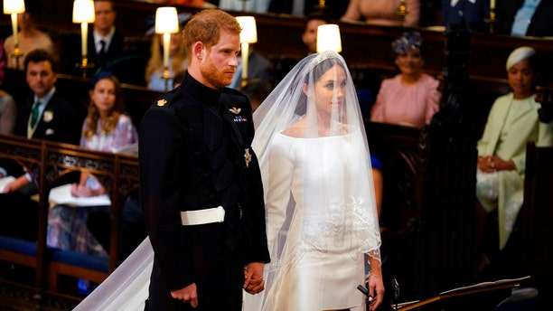 Meghan Markle and Prince Harry wed at Windsor Castle.
