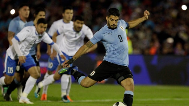 Uruguay's Luiz Suarez got himself banned from soccer for several months after he bit Italy's Giorgio Chiellini in the 2014 World Cup.
