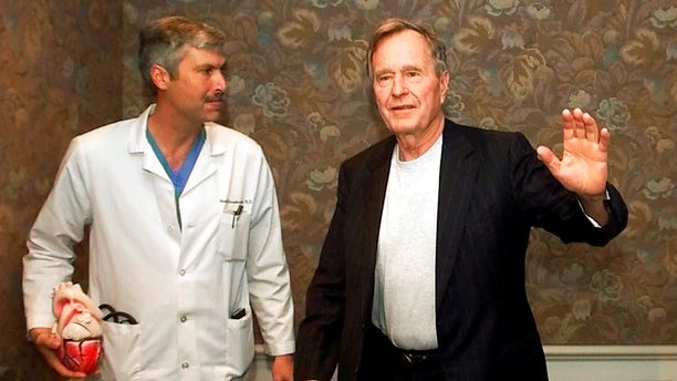 Hausknecht was a well-known doctor who once treated former President George H.W. Bush.