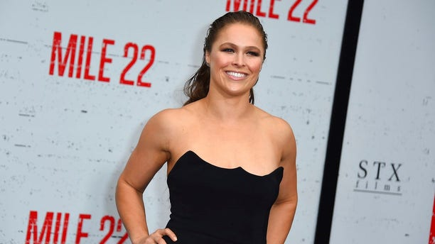Ronda Rousey went on social media Monday, seemingly hinting she is ready to start a family with her husband of nearly two years, Travis Browne.