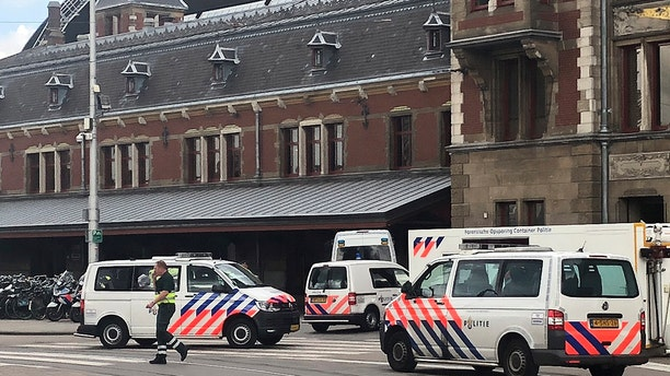 Dutch capital shot and wounded a suspect Friday following a stabbing at the central railway station. Amsterdam police said in a series of tweets that two people were injured in the stabbing and the suspect was then shot by officers
