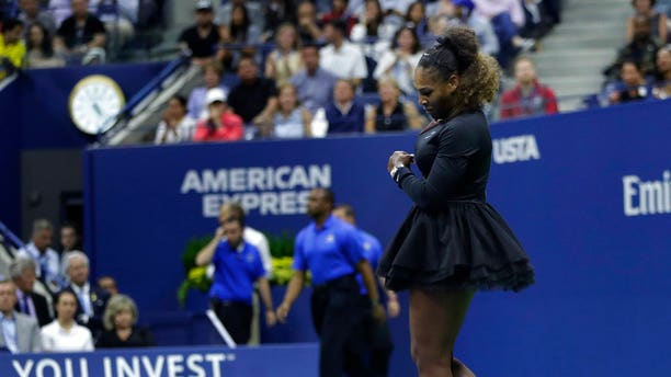 """Serena Williams received a second violation for """"racket abuse."""""""