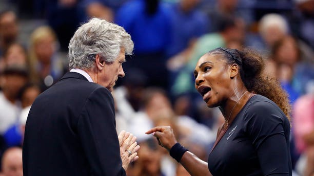 Serena Williams pleaded her case on the court.