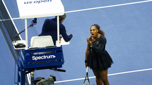Serena Williams accused the chair umpire of sexism.