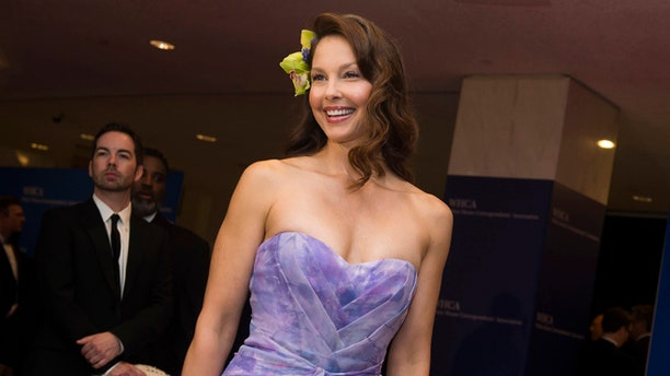 April 25, 2015. Ashley Judd attends the 2015 White House Correspondents Association Dinner at the Washington Hilton Hotel in Washington.